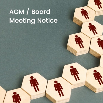 AGM / Board Meeting Notice